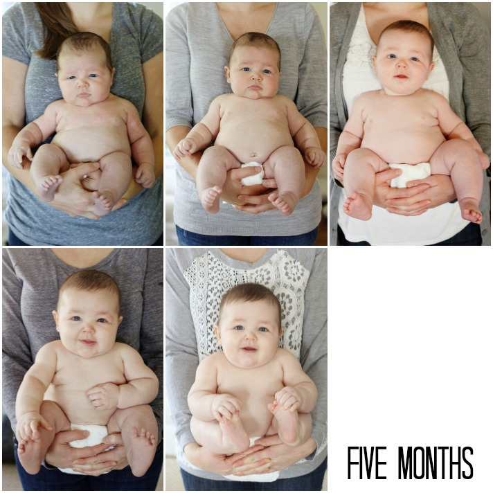 jake 5 month collage